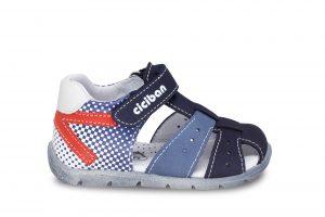 smart sandal navy