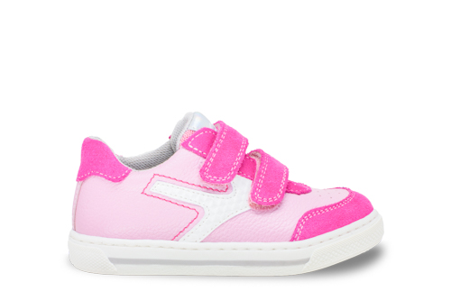 ciciban pink velcro trainers